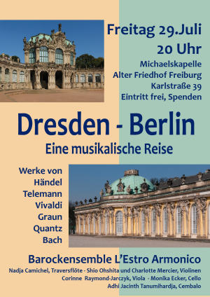 Dresden - Berlin: Eine musikalische Reise